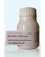 NICOGLYCOL Unflavoured Eliquid PG 80g moc 24mg